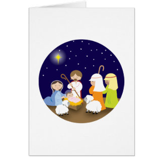 Nativity of the Lord Greeting Card