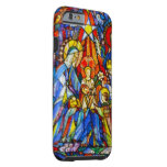 Nativity Painted Stained Glass Style Tough iPhone 6 Case