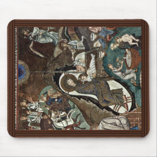 Nativity Scene By Meister Der Palastkapelle In Pal Mouse Pad