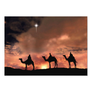 Nativity Scene Gifts for Christmas 13 Cm X 18 Cm Invitation Card