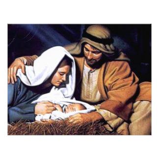 Nativity Scene Gifts for Christmas Custom Flyer