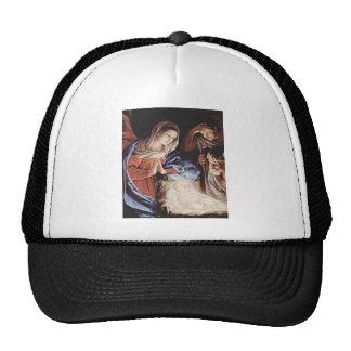 Nativity Scene Trucker Hats