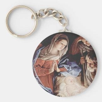 Nativity Scene Key Chain