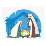 Nativity Scene Personalised Invitations