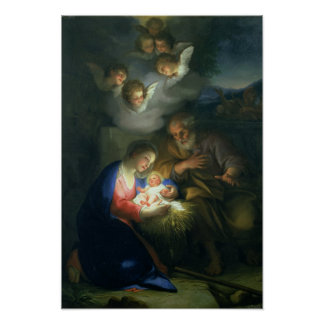 Nativity Scene Posters
