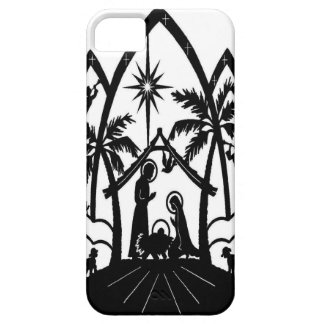 Nativity silhouette case for the iPhone 5