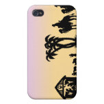 Nativity Silhouette Wise Men on the Horizon iPhone 4/4S Cases