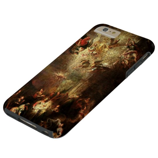 Nativity - The Birth of Christ - Hovering Angels Tough iPhone 6 Plus Case