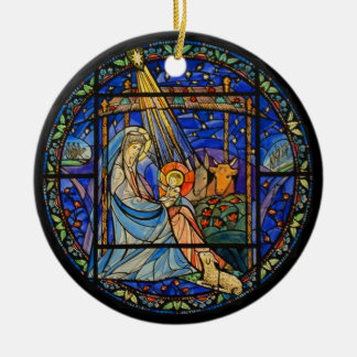 Nativity window ornament