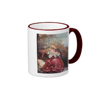 NATIVITY WITH ANGELS - MAGIC OF CHRISTMAS COFFEE MUGS