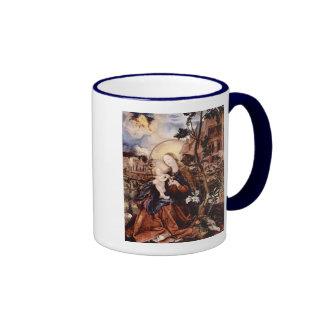 NATIVITY WITH WHITE LILLES - MAGIC OF CHRISTMAS COFFEE MUG