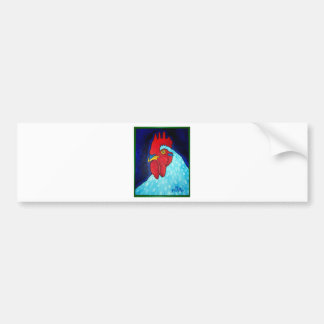 Natley's Rooster by Piliero Bumper Sticker