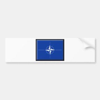 NATO Flag Bumper Stickers