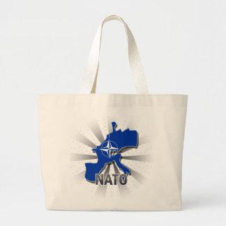 Nato Flag Map 2 0 Tote Bag