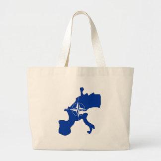 Nato Flag Map full size Tote Bag