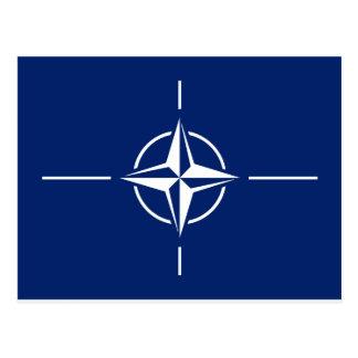 NATO Flag Postcard