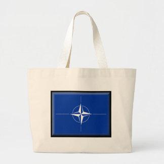 NATO Flag Tote Bags