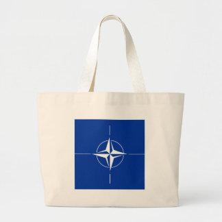 Nato High quality Flag Canvas Bags