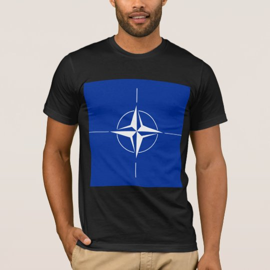 Nato High quality Flag T-Shirt