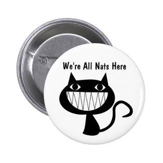 Nats 6 Cm Round Badge