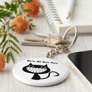 Nats Basic Round Button Key Ring