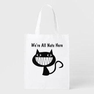 Nats Reusable Grocery Bag