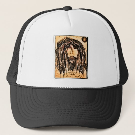 natty dread rides again trucker hat