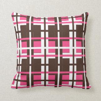 Natty Neapolitan Throw Pillow