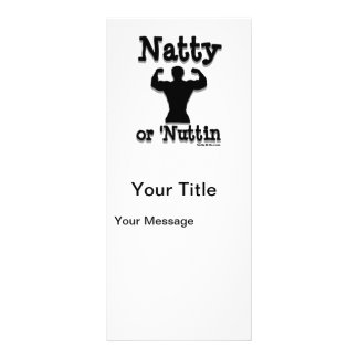 Natty or Nuttin Logo Wear Custom Rack Cards