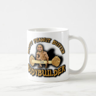 """Natty Peanut Butter Bodybuilder"" Coffee Mug"