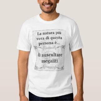 Natura più vera: auscultare megaliti archeologia t shirts