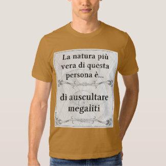 Natura più vera: auscultare megaliti archeologia tshirt