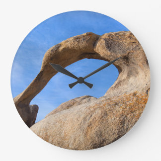 Natural Arch Large Clock