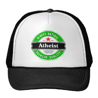 Natural Atheist Hats