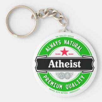 Natural Atheist Key Ring