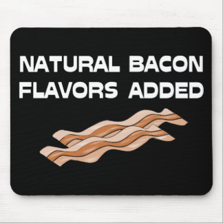 Natural Bacon Flavors Added Mouse Pad