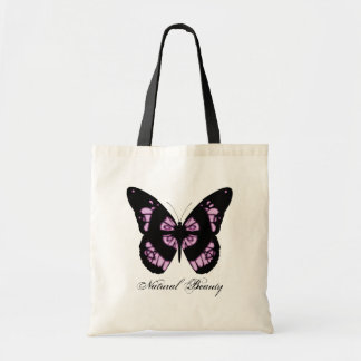Natural Beauty Butterfly Tote Bag