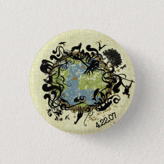Natural Beauty - Preserve It! 3 Cm Round Badge