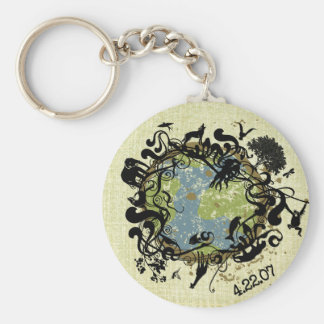 Natural Beauty - Preserve It! Key Ring