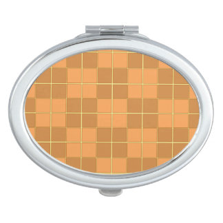 Natural beiges tiles vector design in squares vanity mirrors