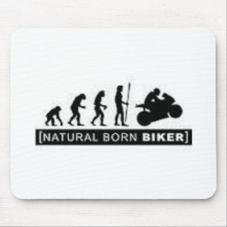 Natural born biker mouse mat