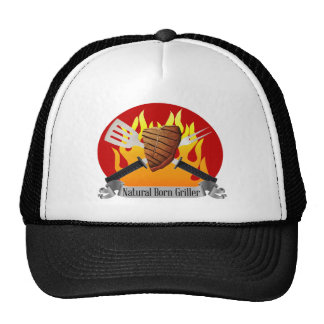 Natural Born Grille barbecue Hat Father's Day gift