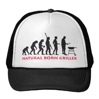 Natural Born Griller 2c Truckercap