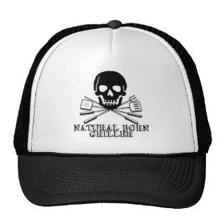 Natural Born Griller Trucker Hats