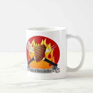 Natural Born Griller Mug Father s Day BBQ gift