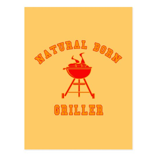 Natural Born Griller Products Postcard