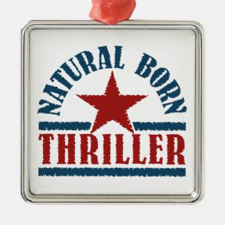 Natural Born Thriller custom ornament