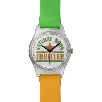 Natural Born Thriller custom watches