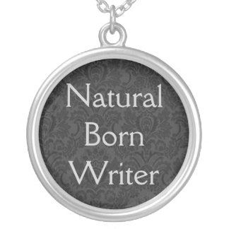 Natural Born Writer Pendant