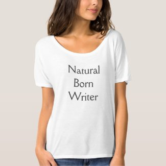 Natural Born Writer Tee